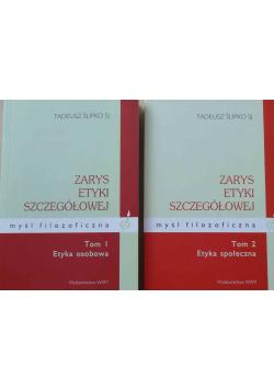Zarys etyki szczegółowej myśl filozoficzna 2 tomy