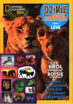 Dzikie zwierzęta T.7 Lew