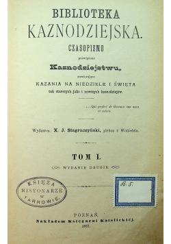 Biblioteka kaznodziejska Tom I 1887 r