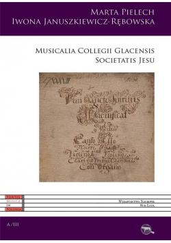 Musicalia Collegii Glacensis