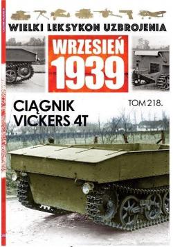 Wielki leksykon uzbrojenia T.218 Ciągnik Vickers..
