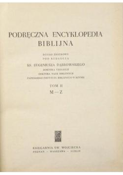 Podręczna encyklopedia biblijna Tom II