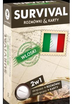 SURVIVAL  karty Język włoski Nowe