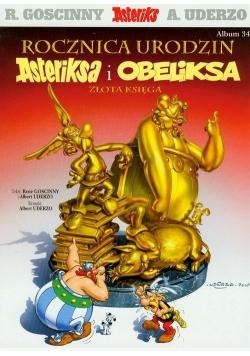 Asteriks 34 Rocznica urodzin Asteriksa i Obeliksa Złota księga