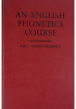 An english phonetics course