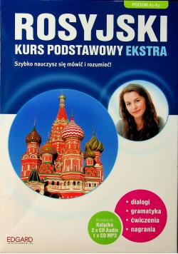 Rosyjski Kurs podstawowy Ekstra plus 3 CD