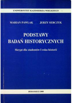 Podstawy badań historycznych