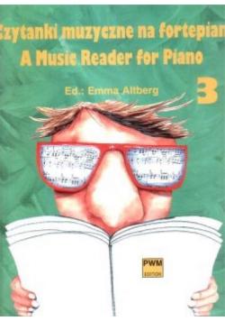 Czytanki muzyczne na fortepian 3 PWM
