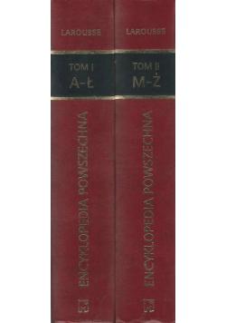Larousse Encyklopedia powszechna 2 tomy