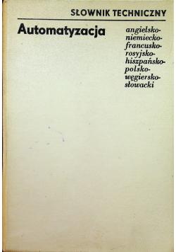 Słownik techniczny Automatyzacja
