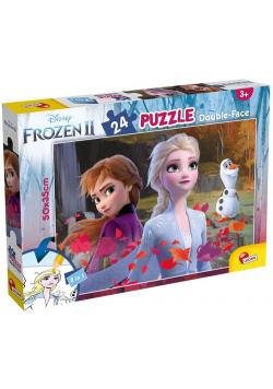 Puzzle dwustronne Plus 24 Frozen 2