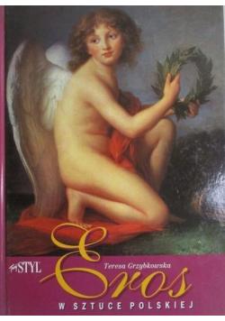 Eros w sztuce polskiej + Autograf Grzybowskiej
