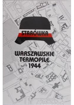 Starówka warszawskie Termopile 1944