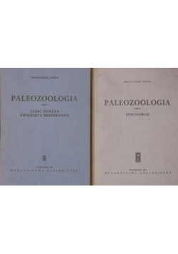 Paleozoologia 2 tomy