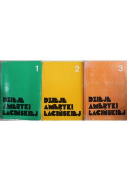 Dzieje Ameryki Łacińskiej tom od 1 do 3