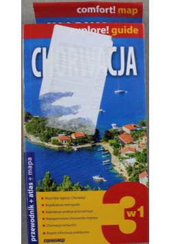 Chorwacja Przewodnik plus atlas