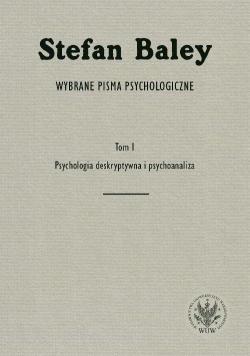 Wybrane pisma psychologiczne T.1