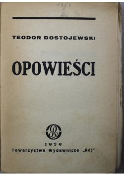 Dostojewski Opowieści 1929 r.