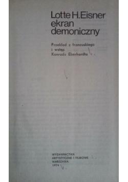 Ekran demoniczny