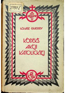 Kodeks akcji katolickiej 1929 r