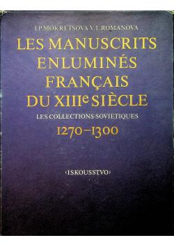 Les Manuscrits enlumines francais du XIIIe siecle