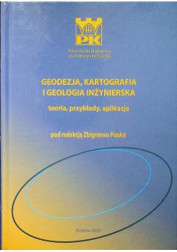 Geodezja kartograficzna i geologia inżynierska teoria przykłady aplikacje