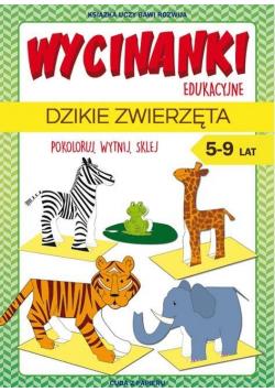 Wycinanki edukacyjne. Dzikie zwierzęta LITERAT