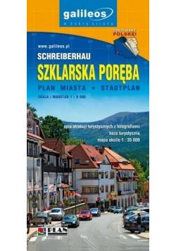 Plan miasta - Szklarska Poręba 1:9 000