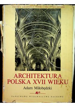 Architektura Polska XVII wieku