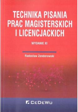 Technika pisania prac magisterskich i licencj.