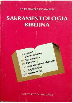 Sakramentologia Biblijna