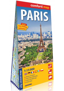 Comfort!map Paris 1:15 000 plan miasta