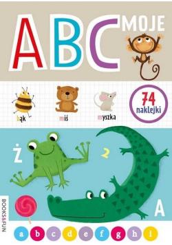 Moje ABC z naklejkami