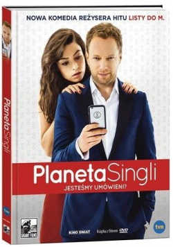 Planeta Singli DVD + książka