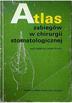 Atlas zabiegów w chirurgii stomatologicznej