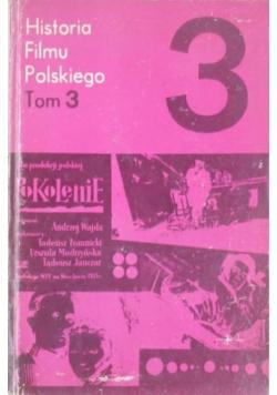 Historia Filmu Polskiego tom 3
