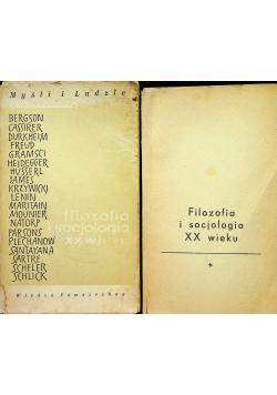 Filozofia i socjologia XX wieku 2 Tomy