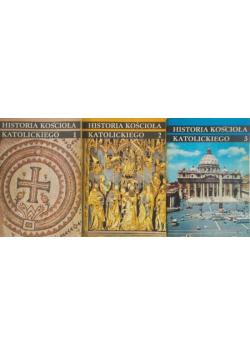 Historia Kościoła Katolickiego 3 Tomy