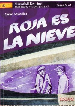Hiszpański kryminał z samouczkiem dla początkujących Roja es la nieve