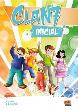 Clan 7 Inicial Podręcznik + ćwiczenia + kod online