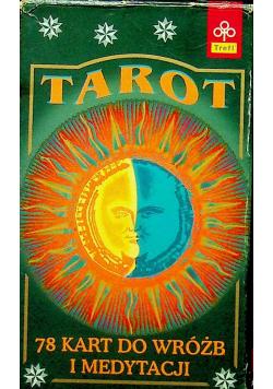 Tarot 78 kart do wróżb i medytacji