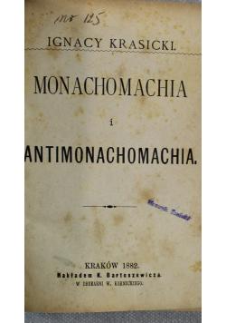 Monachomachia i Antymonachomachia 1882 r.