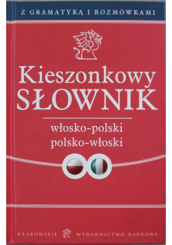 Kieszonkowy słownik włosko polski polsko włoski