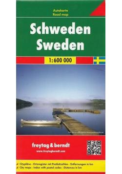 Mapa samochodowa - Szwecja 1:600 000