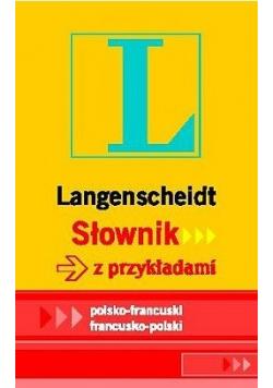 Słownik z przykładami polsko francuski Nowa