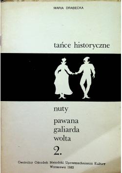Tańce historyczne nuty i kinetogramy ,almanda, gawot ,kontredans
