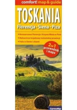 Comfort! map&guide Toskania 2w1 w.2019