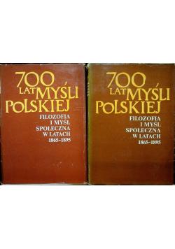 Filozofia i myśl społeczna 2 tomy