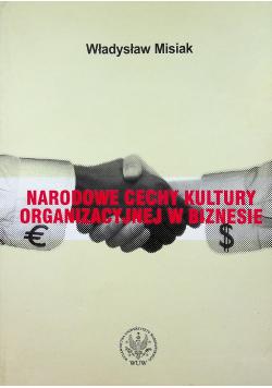 Narodowe cechy kultury organizacyjnej w biznesie