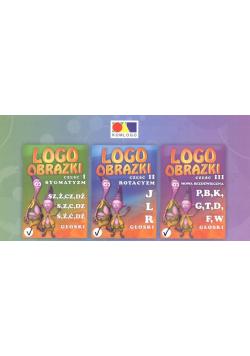 Logoobrazki T.1-3 Pakiet
